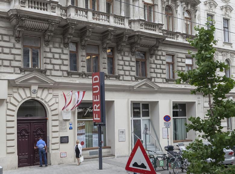 Foto Freud-Museum Eingang
